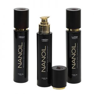 Rich in ingredients hair oil Nanoil
